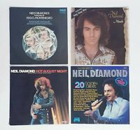 Vintage Neil Diamond Vinyl Bulk Collection Lot - 4 x Vinyl Record LP Bundle