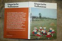 Sammlerbuch Alte Ungarische Volktänze, Tanzstile, Tanzarten, tanzen, DDR 1974