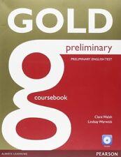 (15).GOLD PRELIMINARY COURSEBOOK AND CD-ROM PACK. ENVÍO URGENTE (ESPAÑA)