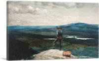 ARTCANVAS The Ranger 1882 Canvas Art Print by Winslow Homer