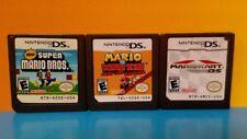 New Super Mario Bros, Mario vs Donkey Kong Mario Kart - Nintendo DS Lite 3DS 2DS