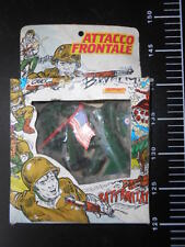Attacco Frontale Ceppiratti Made in Italy Military Vintage 60 Plastic Play set