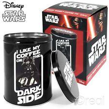 Neu Star Wars Darth Vader Dark Side Kaffee Dose Büchse Keks-speicher Offiziell