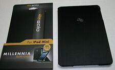Solo MILLENIA Slim iPad MINI Case  Gen 1-2-3 Textured Black Rear Camera Opening