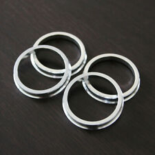 A set of 4pcs Plastic HUB CENTRIC HUBCENTRIC RING RINGS ID 56.1mm to OD 71.12mm