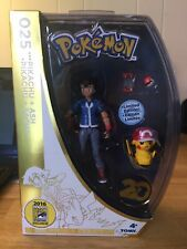 "Tomy ""PoKéMoN 20th Anniversary Sdcc 2016 Exclusive� 025 Pikachu + Ash"