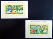 MONGOLIA 2004 Insects & Flowers MS3039 U/M NB4695