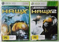 Tom Clancy's HAWX and Tom Clancy's HAWX 2 Microsoft Xbox 360