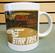 STAR TREK The Next Generation Coffee Mug 1992 Paramount Pictures (DH1255)
