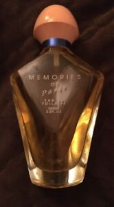 Memories of Paris Eau de Toilette Perfume - 3.3 Fl. Oz. bottle 90% full
