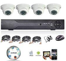 Caméra video surveillance avec enregistreur 960H, DVR 4voies et 4 caméras