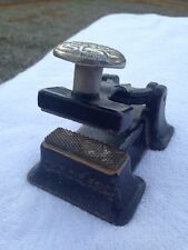 """Antique Letterpress """"THE PEARL"""" Honeycomb Paper press Anti-Forgery Device RARE!"""