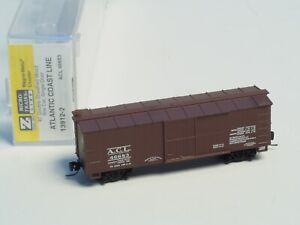13912-2 MTL Z-scale 40'  box car single door Old Era, ATLANTIC COAST LINE