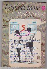 Paul Morand - Lewis et Irène - poche 1969 . bon état.