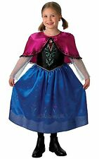 SPECIAL OFFER - DELUXE DISNEY FROZEN ANNA FANCY DRESS COSTUME  TODDLER 1/2 YEARS