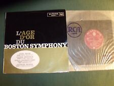 L'AGE D'OR du BOSTON SYMPHONY - MUCK, MONTEUX, MUNCH - LP RCA VICTOR 630.649 A
