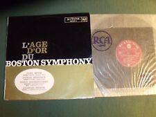 L'AGE D'OR du BOSTON SYMPHONY - MUCK, MONTEUX, MUNCH - LP RCA VICTOR 630.649 A