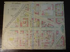 1892 Map of NW DC - West of Wash Circle-Rare large property specific detail.