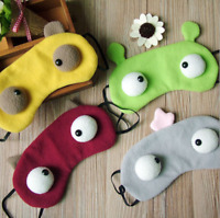 VERY CUTE SOFT TRAVEL EYE MASK FOR KIDS ADULTS SLEEP HELPING BLOCKING OUT LIGHT