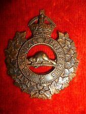 WW1 Canadian Engineers KC Cap Badge - Canada CEF, MS13 Type