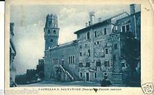 ve 078 Anni 30 SUSEGANA (Treviso) Castello S.Salvatore non viagg. FP Ed.Olivotto