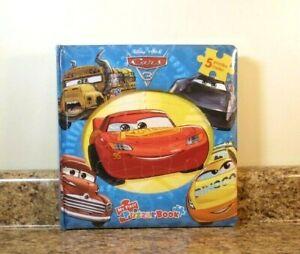 Lightning McQueen Cars Wood Preschool Puzzle Porto Corsa Disney 12 Pieces