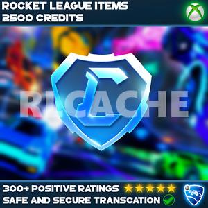 2500 Tradeable Credits - Rocket League [XBOX]