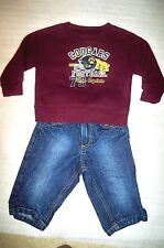 baby boy outfit- Cougars Football 79 Team Captain sweatshirt Calvin Klein Jeans