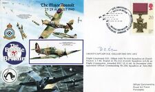 WW2 RAF Battle of Britain ace DENYS GILLAM DFC signed cover