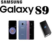 Nagelneu Samsung Galaxy s9 sm-g960f 64gb Entsperrt 4g LTE jedes Netzwerk Smartphone