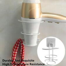 Wall-mounted Bathroom Blow Hair Dryer Holder Stand Rack Spiral Storage Hanger