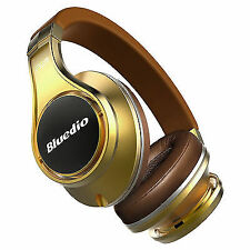 Bluedio UFO Bluetooth 4.1 Wireless Headphone Headset 8 Sound Tracks 3d Gold
