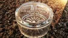 PGA TOUR Champions Tour Etched Glass Jar