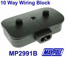 Maypole WIRING BLOCK Trailer Tow Bar Fittings MP2991 Junction Box 10 Way