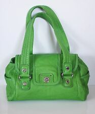 MARC By MARC JACOBS TOTALLY TURNLOCK MINI QUINN BAG Green Leather Purse Satchel