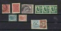 AUSTRALIA STAMPS ,TASMANIA MOUNTED MINT AND USED STAMP DUTY  STAMPS   R 2310