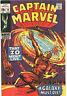 Marvel Comics CAPTAIN MARVEL #15 (1968) VERY FINE - Silver Age Classic!