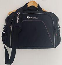 TaylorMade Golf Messenger Laptop Tablet Organiser Bag - Black