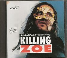 CD ALBUM BOF / OST 12 TITRES--KILLING ZOE--TOMANDANDY--1994--RARE