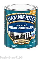 HAMMERITE Metallschutzlack Matt 2,5 Schwarz Metall-Schutz-Lack