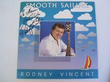 RODNEY VINCENT - SMOOTH SAILING - SIGNED OZ LP