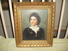 Antique Victorian Jewish Woman Painting Or Daguerreotype Photograph-Lorstan