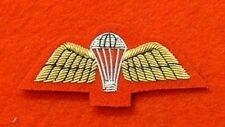 Red Mess Dress Para Wings Badge PARA Qualification Badge Parachute Badge