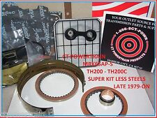 TH200 200 TH200C 200C Super Kit Less Steels Late 1979-1987 Filter Band New Chevy