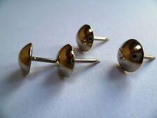 decorative upholstery pins tacks silver box of 50