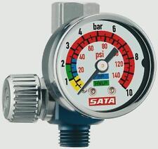 Manometro SATA 27771 per pistola a spruzzo micrometro regolatore aria compressa