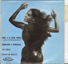 "OSVALDO DIEZ + 3 ""PARIS A LE COEUR TENDRE"" LATIN POP 60'S EP BOX 60102"