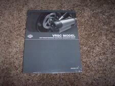 2007 Harley Davidson VRSC V-Rod Electrical Wiring Manual VRSCX VRSCA VRSCD