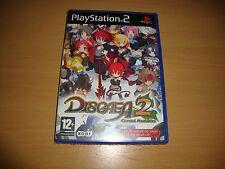 DISGAEA 2 CURSED MEMORIES RPG DE NIPPON ICHI PARA LA SONY PS2 NUEVO PRECINTADO
