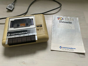 Commodore 64 C64 Datasette VC1530 + Anleitung Handbuch Instructions 80s